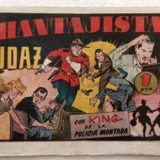Tebeos: KING DE LA POLICÍA MONTADA ORIGINAL Nº 8 , HISPANO AMERICANA 1946 - 14 PGS. 17 X 24,5 CMS.. Lote 234485990