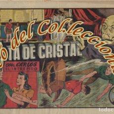 Tebeos: CARLOS EL INTREPIDO N.25 (MAS ALLA DE LA PUERTA CRISTAL) ALBUMES PREFERIDOS , HISPANO AMERICANA,1942. Lote 234489295