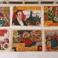Tebeos: HISTORI I LLEGENDA NºS - 5,7,10,14,15, TIEMPOS HERÓICOS, HISTORIA Y LEYENDA Nº 33, HISPANO AMERICANA. Lote 234589905