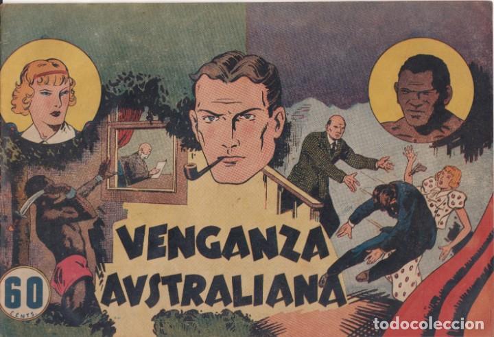 "COMIC ""EL INSPECTOR WADE DE SCOTLAND YARD - VENGANZA AUSTRALIANA"" ED.HISP. AMERICANA (60 CTS.DE PTA) (Tebeos y Comics - Hispano Americana - Otros)"