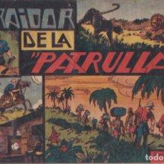 """BDs: COMIC JORGE Y FERNANDO """"EL TRAIDOR DE LA PATRULLA"""" HISPANO AMERICANA DE EDICIONES (60 CTMS). Lote 235570610"""