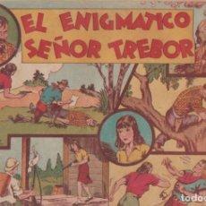 """BDs: COMIC JORGE Y FERNANDO """"EL ENIGMÁTICO SEÑOR TREBOR"""" HISPANO AMERICANA DE EDICIONES (60 CTMS). Lote 235571140"""