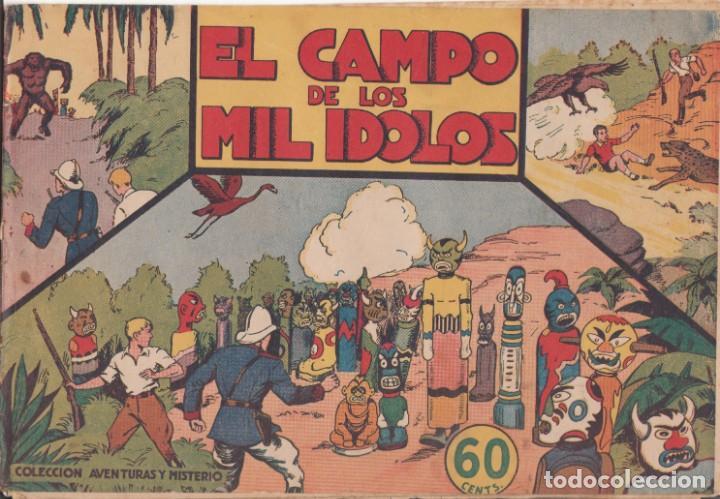 """COMIC JORGE Y FERNANDO """"EL CAMPO DE LOS MIL ÍDOLOS"""" HISPANO AMERICANA DE EDICIONES (60 CTMS) (Tebeos y Comics - Hispano Americana - Jorge y Fernando)"""