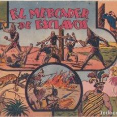 """BDs: COMIC JORGE Y FERNANDO """"EL MERCADER DE ESCLAVOS"""" HISPANO AMERICANA DE EDICIONES (60 CTMS). Lote 235573965"""