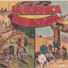 """BDs: COMIC JORGE Y FERNANDO EN """" LA COMARCA INEXPLORADA """" HISPANO AMERICANA DE EDICIONES (60 CTMS). Lote 235593340"""