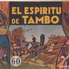 """BDs: COMIC JORGE Y FERNANDO EN """" EL ESPÍRITU DE TAMBO """" HISPANO AMERICANA DE EDICIONES (60 CTMS). Lote 235593610"""