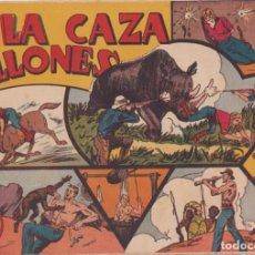 """BDs: COMIC JORGE Y FERNANDO EN """" A LA CAZA DE MILLONES """" HISPANO AMERICANA DE EDICIONES (60 CTMS). Lote 235593750"""