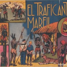 """BDs: COMIC JORGE Y FERNANDO EN """" EL TRAFICANTE EN MARFIL """" HISPANO AMERICANA DE EDICIONES (60 CTMS). Lote 235596100"""
