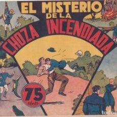 """BDs: COMIC JORGE Y FERNANDO """"EL MISTERIO DE LA CHOZA INCENDIADA"""" HISPANO AMERICANA DE EDICIONES (75 CTMS). Lote 235597430"""