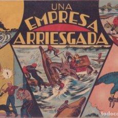 """BDs: COMIC JORGE Y FERNANDO EN """" UNA EMPRESA ARRIESGADA """" HISPANO AMERICANA DE EDICIONES (75 CTMS). Lote 235598800"""