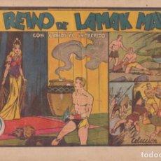 """Tebeos: COMIC CARLOS EL INTRÉPIDO EN """" EL REINO DE LAMAK MAYTA """" HISPANO AMERICANA DE EDICIONES (60 CTMS). Lote 235812325"""