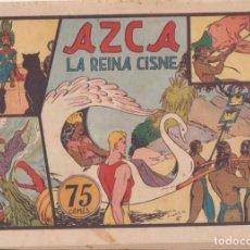 """Tebeos: COMIC CARLOS EL INTRÉPIDO EN """" AZCA LA REINA CISNE """" HISPANO AMERICANA DE EDICIONES (75 CTMS). Lote 235816095"""