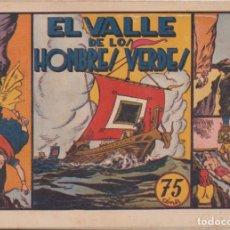 """Tebeos: COMIC CARLOS EL INTRÉPIDO """" EL VALLE DE LOS HOMBRES VERDES"""" HISPANO AMERICANA DE EDICIONES (75 CTMS). Lote 235817525"""