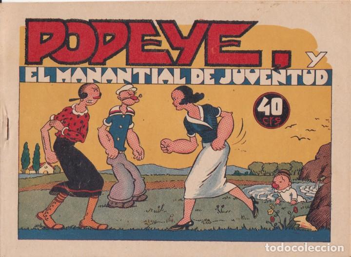 """COMIC """" POPEYE Y EL MANANTIAL DE JUVENTUD """" HISPANO AMERICANA DE EDICIONES (40 CTMS) AÑOS 40 (Tebeos y Comics - Hispano Americana - Otros)"""
