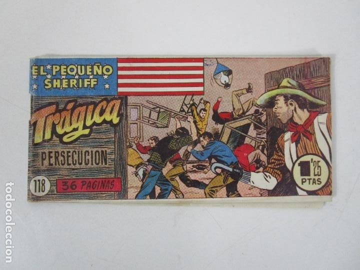 EL PEQUEÑO SHERIFF - TRÁGICA PERSECUCIÓN Nº 118 - ED HISPANO AMERICANA (Tebeos y Comics - Hispano Americana - Otros)