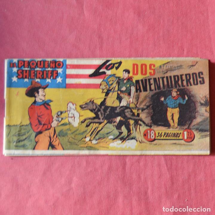 EL PEQUEÑO SHERIFF - Nº 18 - LOS DOS AVENTUREROS (Tebeos y Comics - Hispano Americana - Otros)