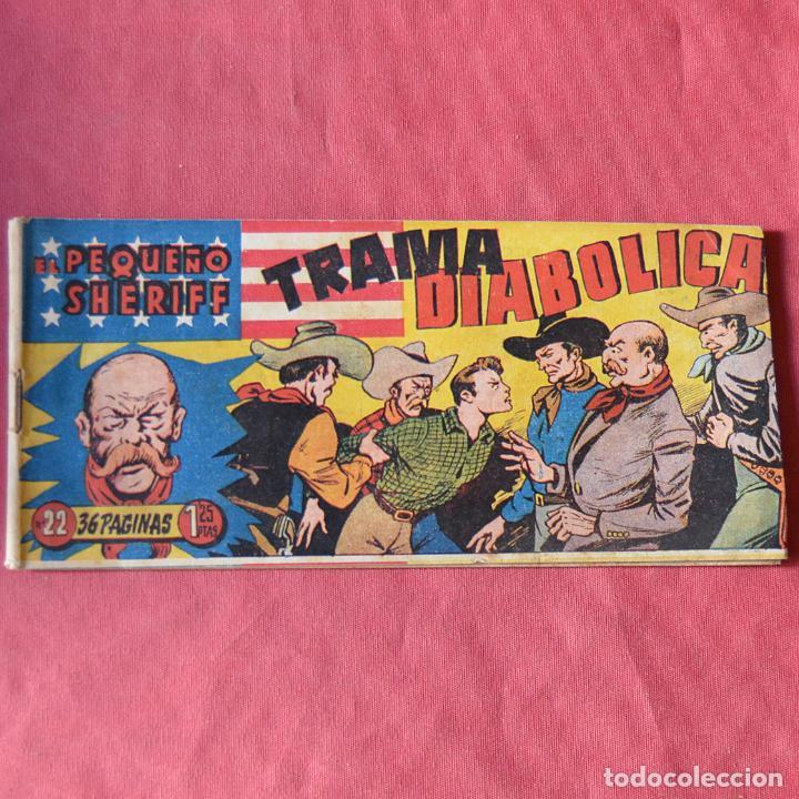 EL PEQUEÑO SHERIFF - Nº 22 - TRAMA DIABOLICA (Tebeos y Comics - Hispano Americana - Otros)