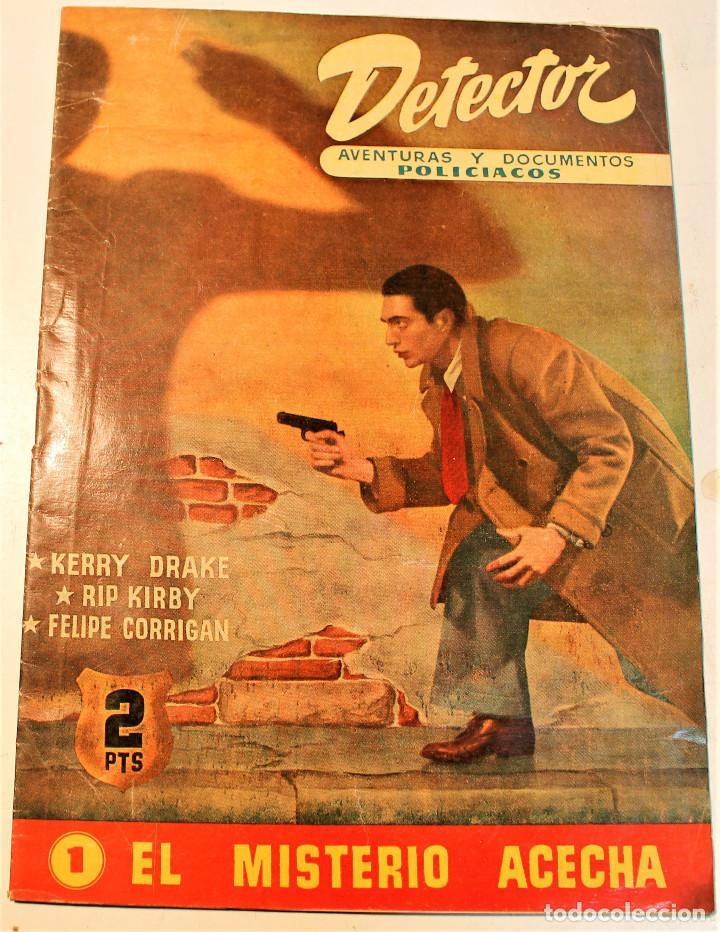 DETECTOR, HISPANO AMERICANA 1951 Nº 1, ORIGINAL (Tebeos y Comics - Hispano Americana - Otros)