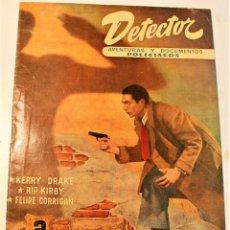 Livros de Banda Desenhada: DETECTOR, HISPANO AMERICANA 1951 Nº 1, ORIGINAL. Lote 236787050
