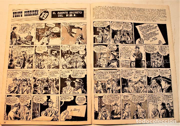 Tebeos: DETECTOR, Hispano americana 1951 nº 1, original - Foto 2 - 236787050