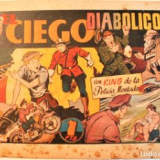 Giornalini: LOS ALBUNES PREFERIDOS POR LA JUVENTUD, EDIT. HISPANO AMERICANA 1942, NÚM. EL CIEGO DIABÓLICO. Lote 237214050