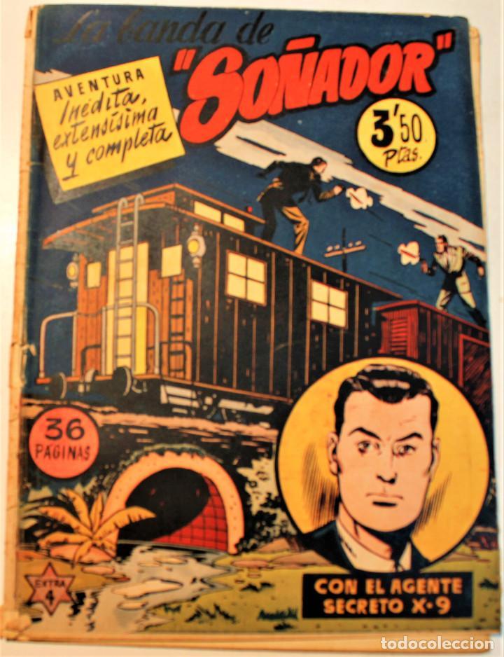 """EXTRA SERIE, EDITORIAL HISPANO AMERICANA, ORIGINAL 1950, NUMERO 4, ORIGINAL """"LA BANDA DE SOÑADOR"""" (Tebeos y Comics - Hispano Americana - Otros)"""