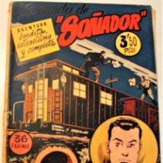 """Tebeos: EXTRA SERIE, EDITORIAL HISPANO AMERICANA, ORIGINAL 1950, NUMERO 4, ORIGINAL """"LA BANDA DE SOÑADOR"""". Lote 237335735"""