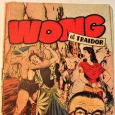 """Tebeos: EXTRA SERIE, EDITORIAL HISPANO AMERICANA, ORIGINAL 1950, NUM. 11, """" WONG EL TRAIDOR """". Lote 237337685"""