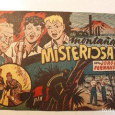 """Tebeos: JORGE Y FERNANDO, EDIT. HISPANO AMERICANA, ORIGINAL 1940, NÚMERO. """" MONTAÑA MISTERIOSA """". Lote 237340675"""