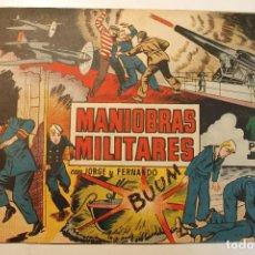 """Tebeos: JORGE Y FERNANDO, EDIT. HISPANO AMERICANA, ORIGINAL 1940, NÚMERO. """" MANIOBRAS MILITARES """". Lote 237356125"""