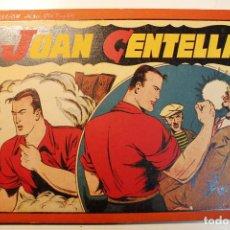 BDs: JUAN CENTELLA, ALBÚM ROJO. EDITORIAL HISPANO AMERICANA, ORIGINAL 1944, NUMERO 11. Lote 237361960