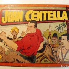 Tebeos: JUAN CENTELLA, ALBÚM ROJO. EDITORIAL HISPANO AMERICANA, ORIGINAL 1944, NUMERO 12. Lote 237362625