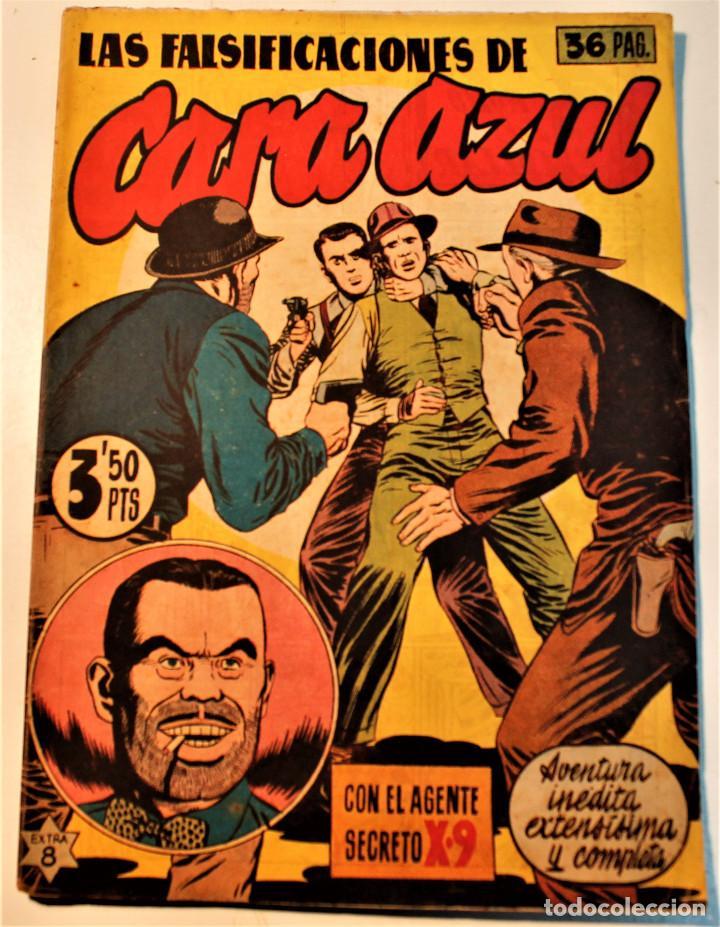 AGENTE SECRETO X-9, EDITORIAL HISPANO AMERICANA 1944, 1 NÚMERO ORIGINAL (Tebeos y Comics - Hispano Americana - Otros)