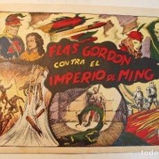 """Tebeos: FLAS GORDON, HISPANO AMERICANA 1944, NÚMERO ORIGINAL """" CONTRA EL IMPERIO DE MING """". Lote 237624775"""