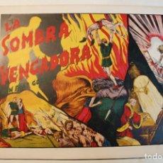 "Tebeos: FLAS GORDON, HISPANO AMERICANA 1944, NÚMERO ORIGINAL "" LA SOMBRA VENGADORA "". Lote 237625235"