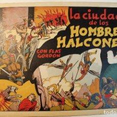 """Tebeos: FLAS GORDON, HISPANO AMERICANA 1944, NÚMERO ORIGINAL """" LA CIUDAD DE LOS HOMBRES HALCONES """". Lote 237626695"""