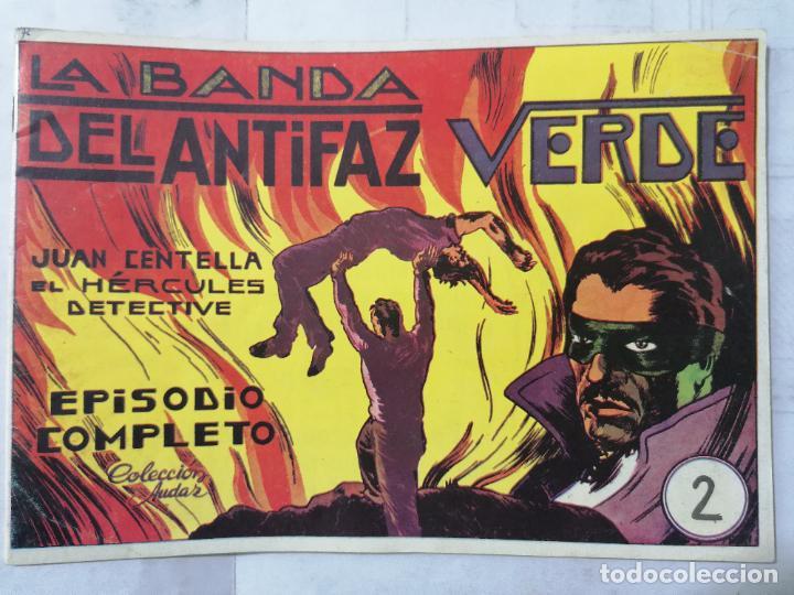 JUAN CENTELLA EL HERCULES DETECTIVE, Nº 2, LA BANDA DEL ANTIFAZ VERDE (Tebeos y Comics - Hispano Americana - Juan Centella)