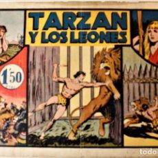 """Tebeos: AVENTURAS DE TARZAN, HISPANO AMERICANA 1942 NÚMERO ORIGINAL """" TARZAN Y LOS LEONES """". Lote 240618875"""