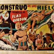 """Tebeos: AVENTURAS DE FLAS GORDON, HISPANO AMERICANA 1942, NÚMERO ORIGINAL """" EL MONSTRUO DE LOS HIELOS """". Lote 240623100"""