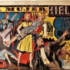 """Tebeos: MERLÍN, REY DE LA MAGIA, HISPANO AMERICANA 1942 NÚMERO ORIGINAL """" LA MUJER DE HIELO """". Lote 240624905"""