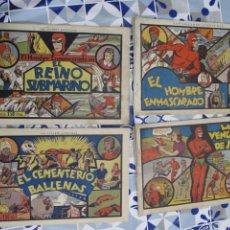 Tebeos: COLECCION COMPLETA EL HOMBRE ENMASCARADO LOS DE LA FOTO. Lote 240731875