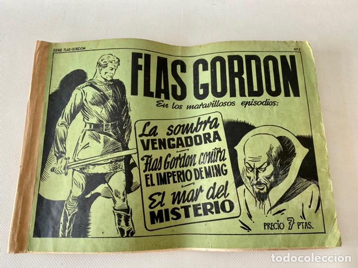 Tebeos: Flas Gordon La Serie Verde Ed. Hispano Americana 1943 Número 2 - Foto 4 - 242070525