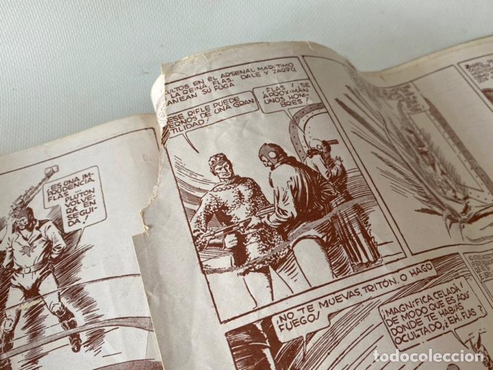 Tebeos: Flas Gordon La Serie Verde Ed. Hispano Americana 1943 Número 2 - Foto 12 - 242070525