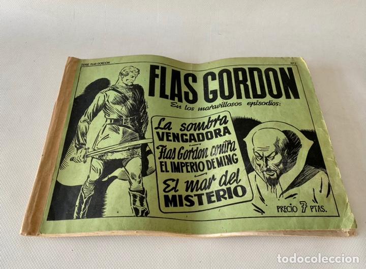 FLAS GORDON LA SERIE VERDE ED. HISPANO AMERICANA 1943 NÚMERO 2 (Tebeos y Comics - Hispano Americana - Flash Gordon)