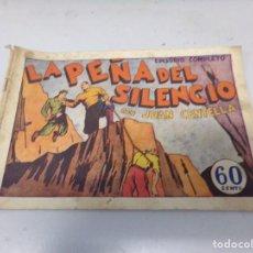 Tebeos: JUAN CENTELLA LA PEÑA DEL SILENCIO EPISODIO COMPLETO. Lote 242326520