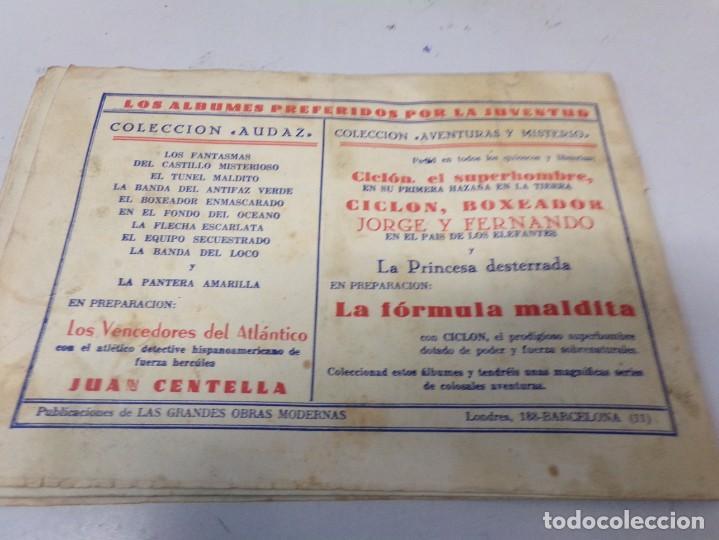 Tebeos: JUAN CENTELLA LA PEÑA DEL SILENCIO EPISODIO COMPLETO - Foto 7 - 242326520