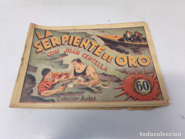 JUAN CENTELLA H. AMERICANA 1940 Nº LA SERPIENTE DE ORO (Tebeos y Comics - Hispano Americana - Juan Centella)