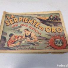Tebeos: JUAN CENTELLA H. AMERICANA 1940 Nº LA SERPIENTE DE ORO. Lote 242872960