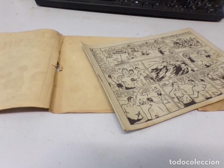Tebeos: JUAN CENTELLA H. AMERICANA 1940 Nº LA SERPIENTE DE ORO - Foto 3 - 242872960
