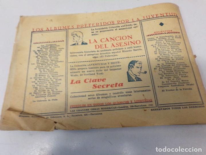 Tebeos: JUAN CENTELLA H. AMERICANA 1940 Nº LA SERPIENTE DE ORO - Foto 5 - 242872960